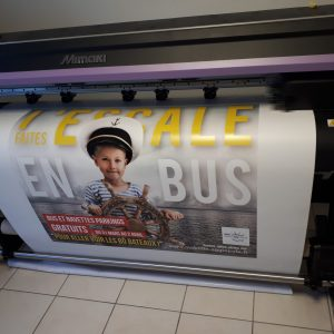 Impression grand format affiches, totems...