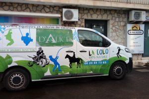 Covering publicitaire Sète